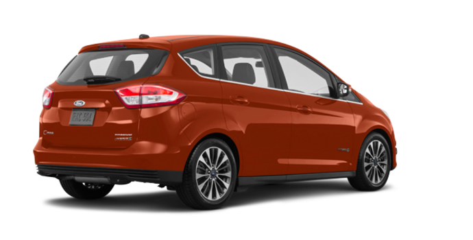 2018 Ford C-MAX HYBRID TITANIUM | Photo 5 | Hot Pepper Red Tinted Clearcoat