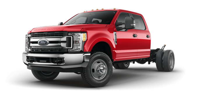 2018 Ford Chassis Cab F-350 XLT | Photo 4 | Race Red