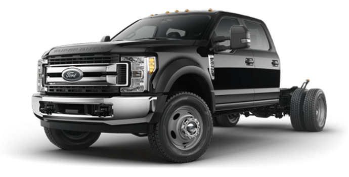 2018 Ford Chassis Cab F-450 XLT | Photo 4 | Shadow Black