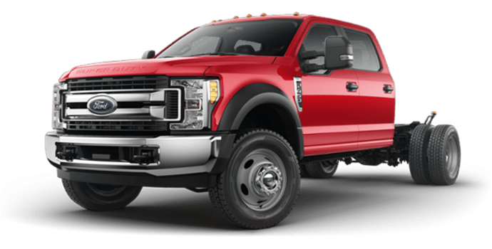 2018 Ford Chassis Cab F-450 XLT | Photo 4 | Race Red
