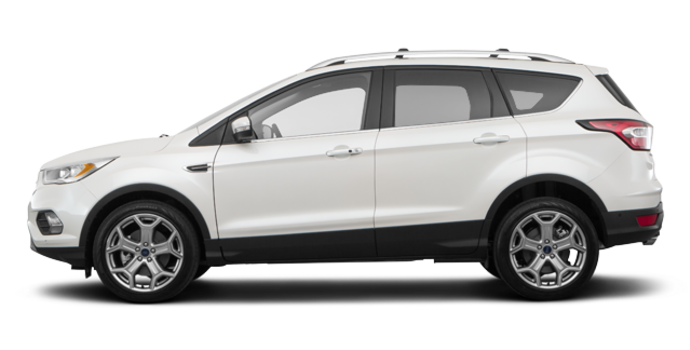 2018 Ford Escape TITANIUM | Photo 4 | White Platinum Metallic