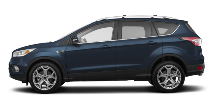 2018 Ford Escape TITANIUM | Photo 4 | blue metallic