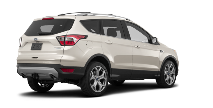 2018 Ford Escape TITANIUM | Photo 5 | White Gold