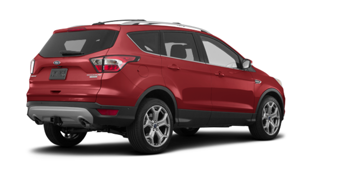 2018 Ford Escape TITANIUM | Photo 5 | Ruby Red Metalic Tinted
