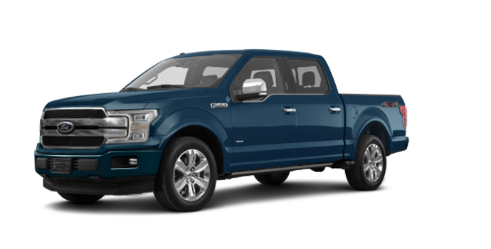2018 Ford F-150 PLATINUM | Photo 6 | Blue Jeans Metallic