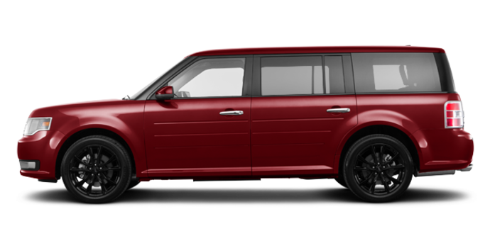 2018 Ford Flex SEL | Photo 4 | Ruby Red
