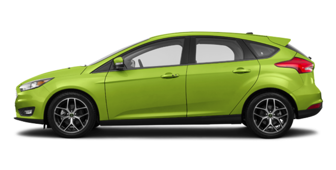 2018 Ford Focus Hatchback SEL | Photo 4 | Outrageous Green Metallic