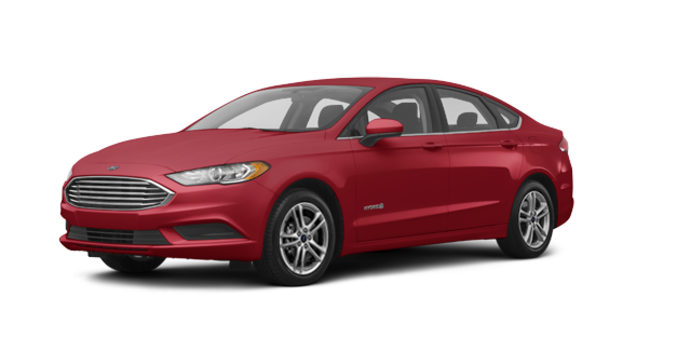 2018 Ford Fusion Hybrid SE | Photo 6 | Ruby Red