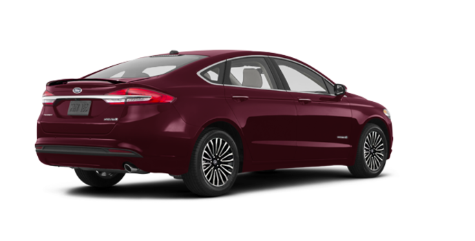 2018 Ford Fusion Hybrid TITANIUM | Photo 5 | Burgundy Velvet