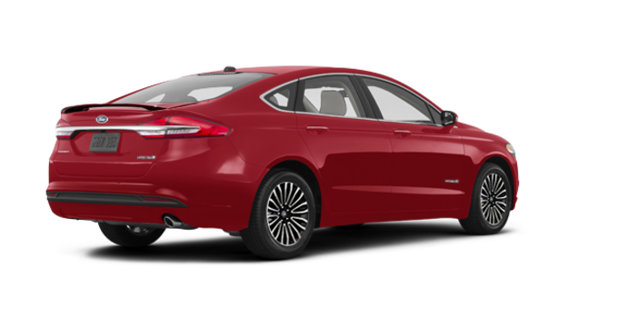 2018 Ford Fusion Hybrid TITANIUM | Photo 5 | Ruby Red
