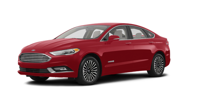 2018 Ford Fusion Hybrid TITANIUM | Photo 6 | Ruby Red