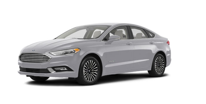 2018 Ford Fusion Hybrid TITANIUM | Photo 6 | Ingot Silver