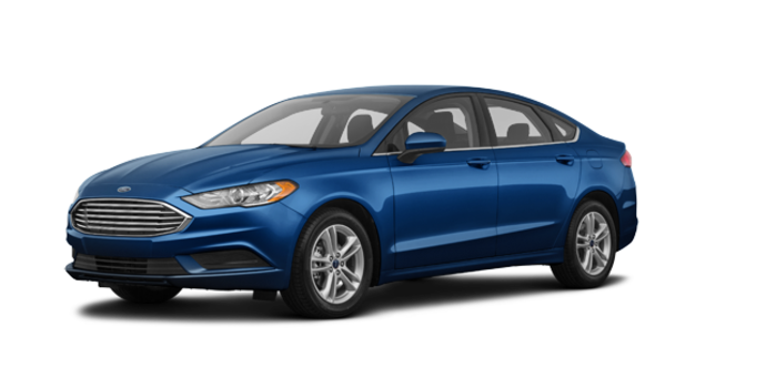 2018 Ford Fusion S | Photo 6 | Lightning Blue