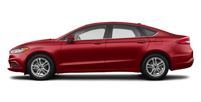 2018 Ford Fusion SE | Photo 4 | Ruby Red
