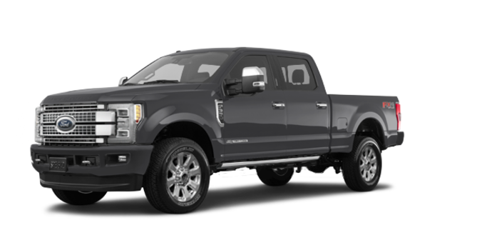 2018 Ford Super Duty F-350 PLATINUM | Photo 6 | Magnetic