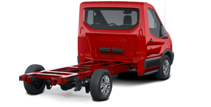 2018 Ford Transit CC-CA CHASSIS CAB | Photo 5 | Race Red