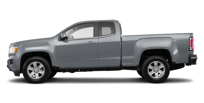 2018 GMC Canyon SLE | Photo 4 | Satin steel metallic