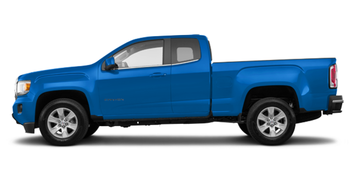 2018 GMC Canyon SLE | Photo 4 | Marine Blue Metallic