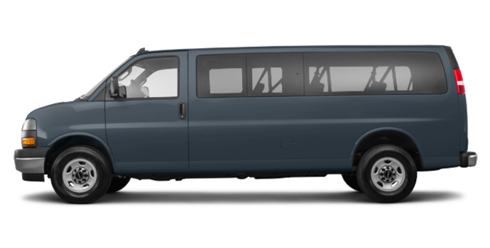 2018 GMC Savana 3500 PASSENGER LT | Photo 4 | Dark Slate Metallic