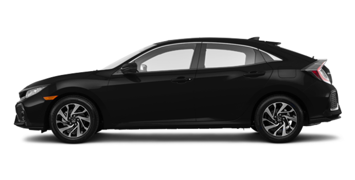 2018 Honda Civic hatchback LX | Photo 4 | Crystal Black Pearl