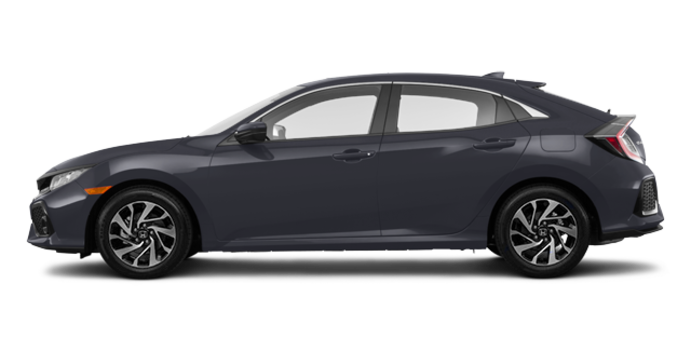 2018 Honda Civic hatchback LX | Photo 4 | Polished Metal Metallic