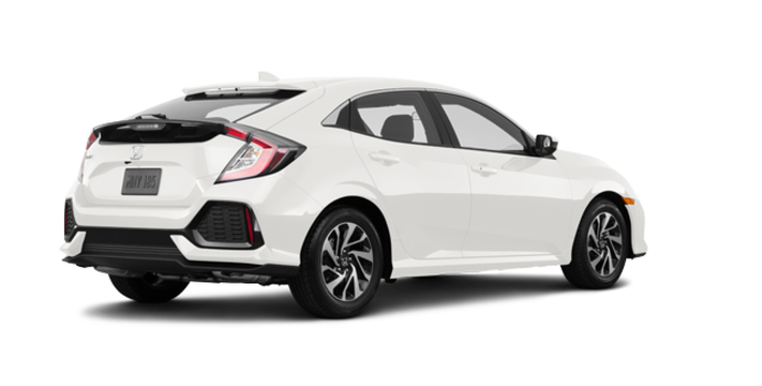 2018 Honda Civic hatchback LX | Photo 5 | White Orchid Pearl