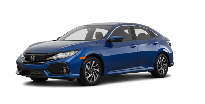2018 Honda Civic hatchback LX | Photo 6 | Aegean Blue Metallic
