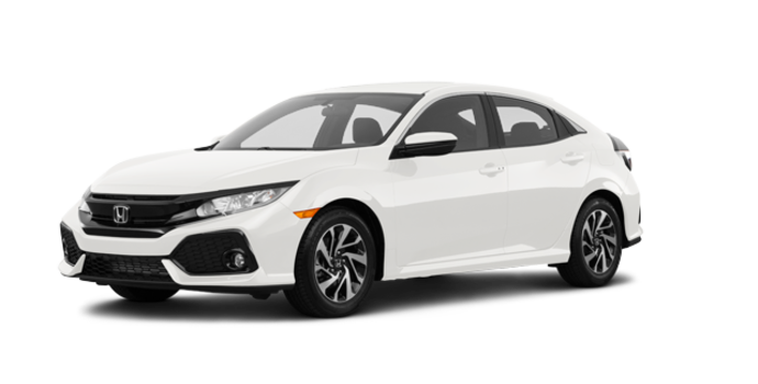 2018 Honda Civic hatchback LX | Photo 6 | White Orchid Pearl