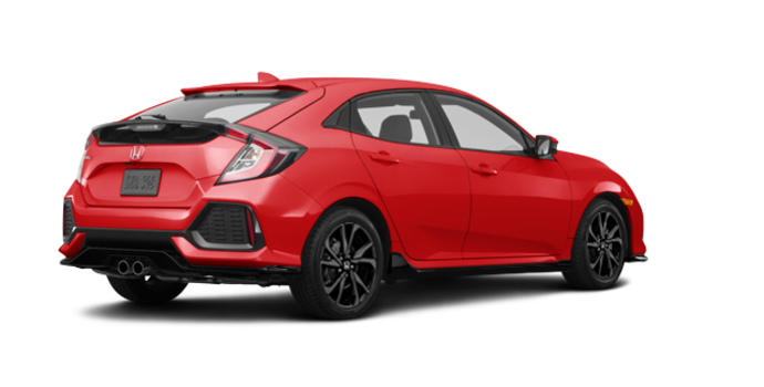 2018 Honda Civic hatchback SPORT TOURING | Photo 5 | Rallye Red