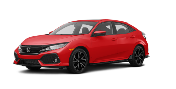 2018 Honda Civic hatchback SPORT TOURING | Photo 6 | Rallye Red