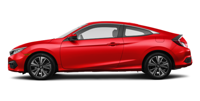 2018 Honda Civic Coupe EX-T | Photo 4 | Rallye Red