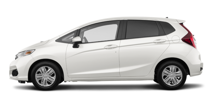 2018 Honda Fit LX | Photo 4 | White Orchid Pearl