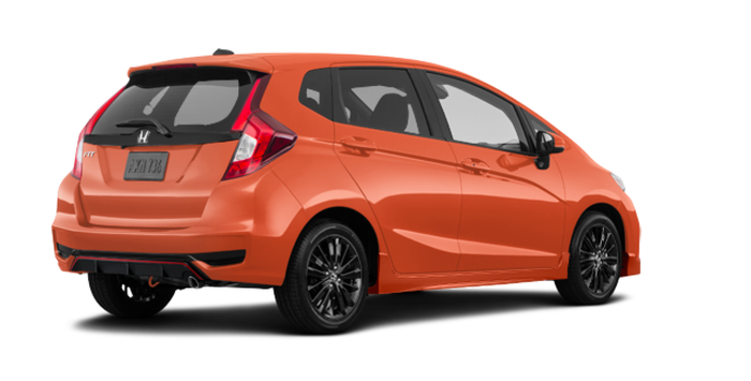 2018 Honda Fit SPORT SENSING | Photo 5 | Orange Fury