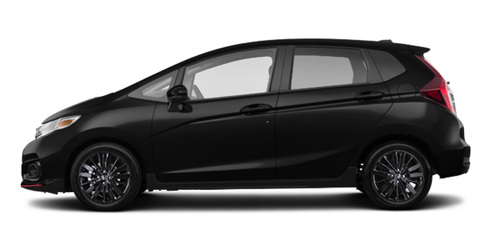 2018 Honda Fit SPORT | Photo 4 | Crystal Black Pearl