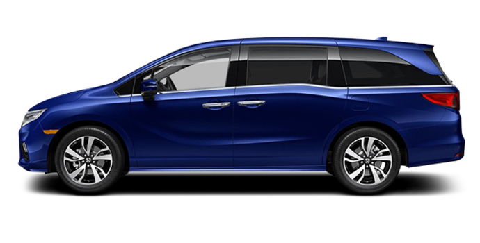 2018 Honda Odyssey TOURING | Photo 4 | Obsidian Blue Pearl