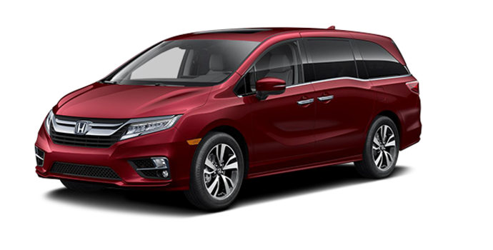 2018 Honda Odyssey TOURING | Photo 6 | Deep Scarlet Pearl