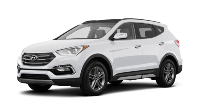 2018 Hyundai Santa Fe Sport 2.0T LIMITED | Photo 6 | Frost White Pearl