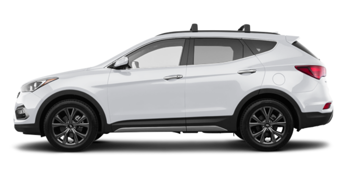 2018 Hyundai Santa Fe Sport 2.0T ULTIMATE | Photo 4 | Frost White Pearl
