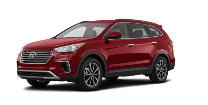2018 Hyundai Santa Fe XL BASE | Photo 6 | Regal Red Pearl