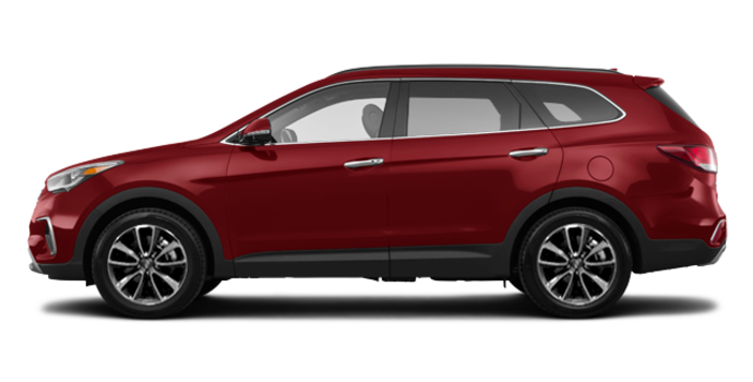 2018 Hyundai Santa Fe XL LUXURY | Photo 4 | Regal Red Pearl