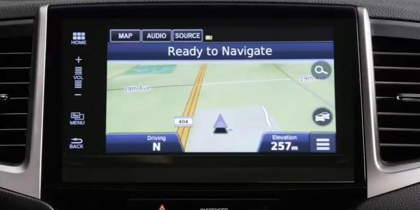 Système de navigation Honda relié par satellite