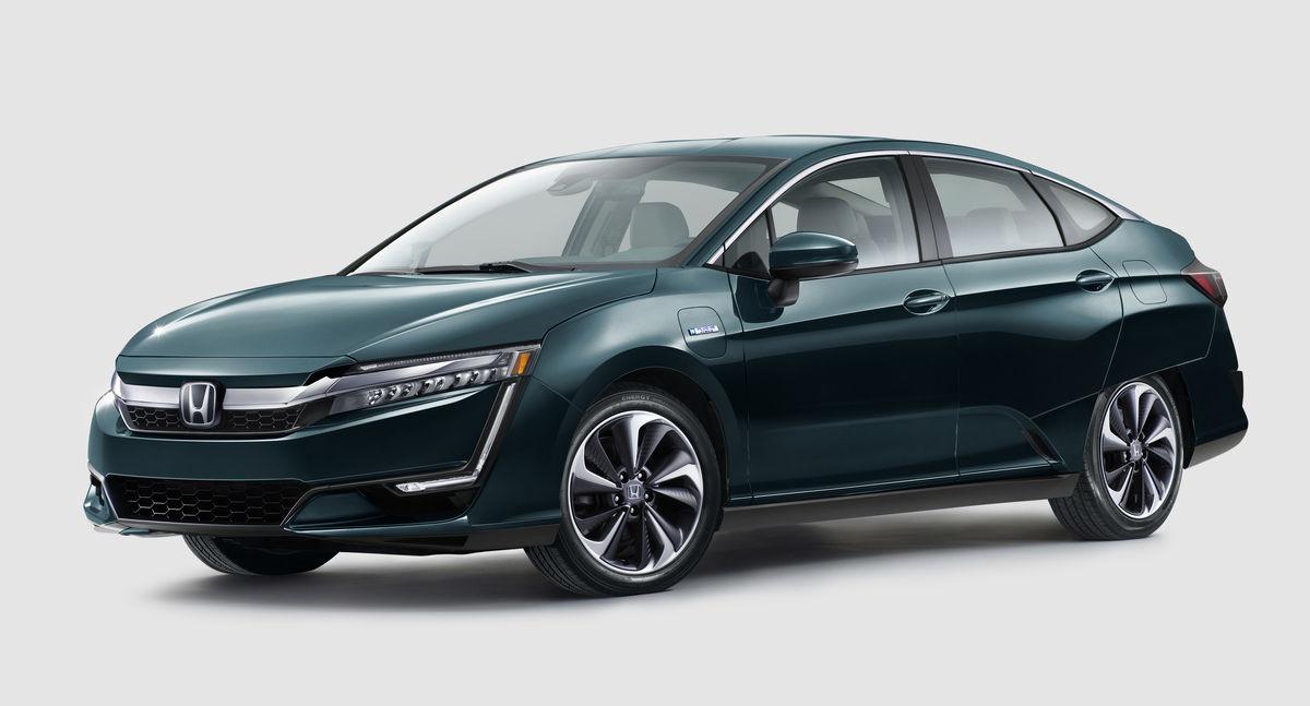 La nouvelle Honda Clarity présentée au Salon de l'auto de New York