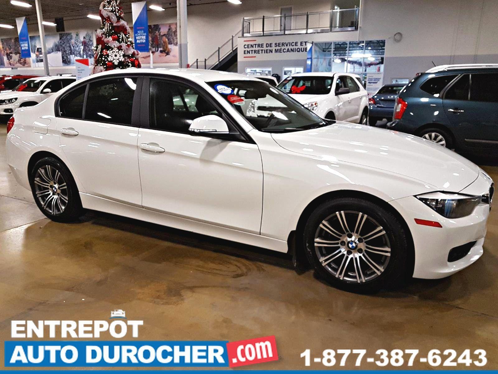 BMW 3 Series 320i, AUTOMATIQUE, AIR CLIMATISÉ, SIÈGES EN CUIR 2014