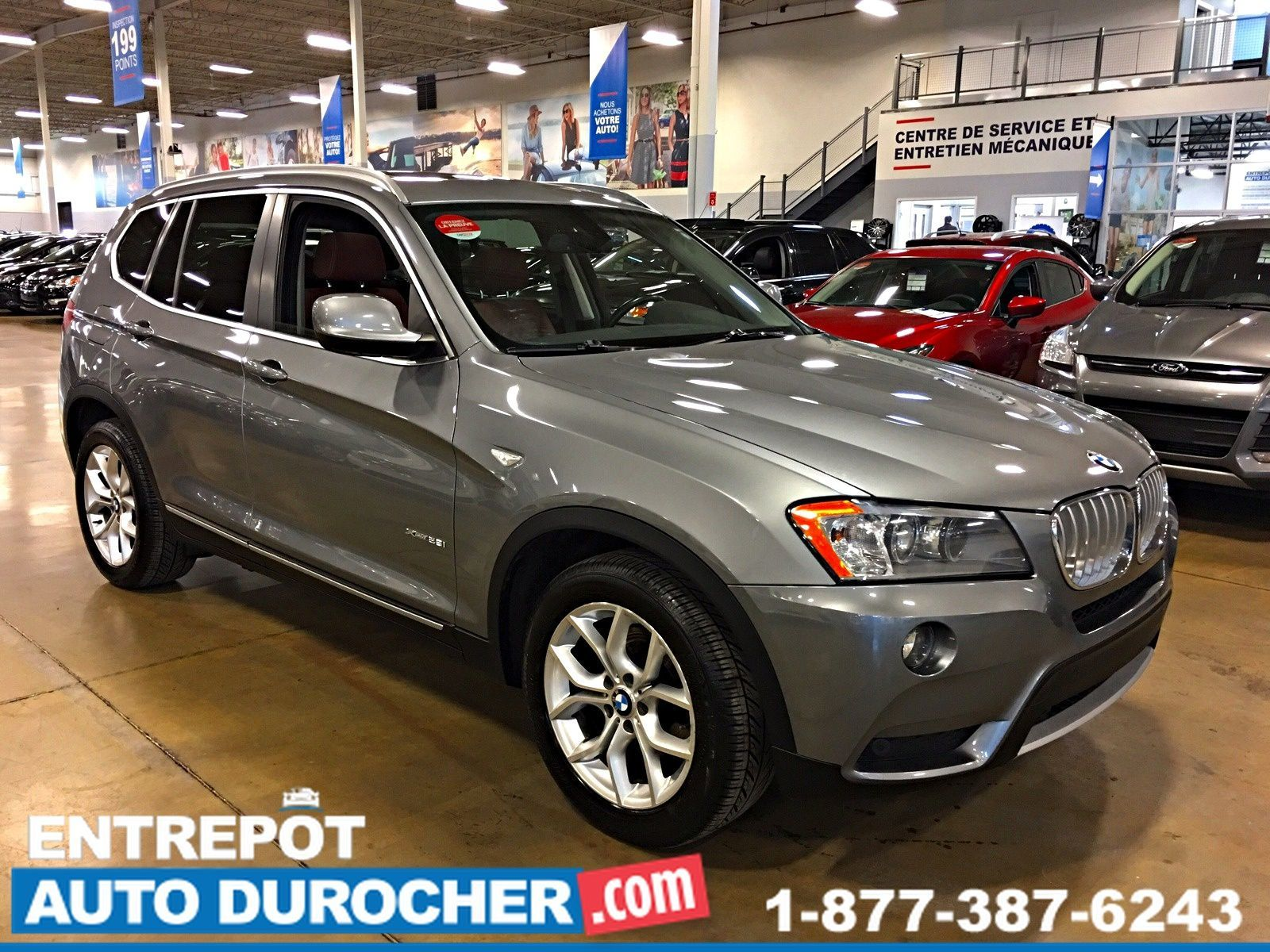 2013 BMW X3 28i 4X4 TOIT PANORAMIQUE JANTES 2013 BMW X3 PANORAMIC ROOF LEATHER