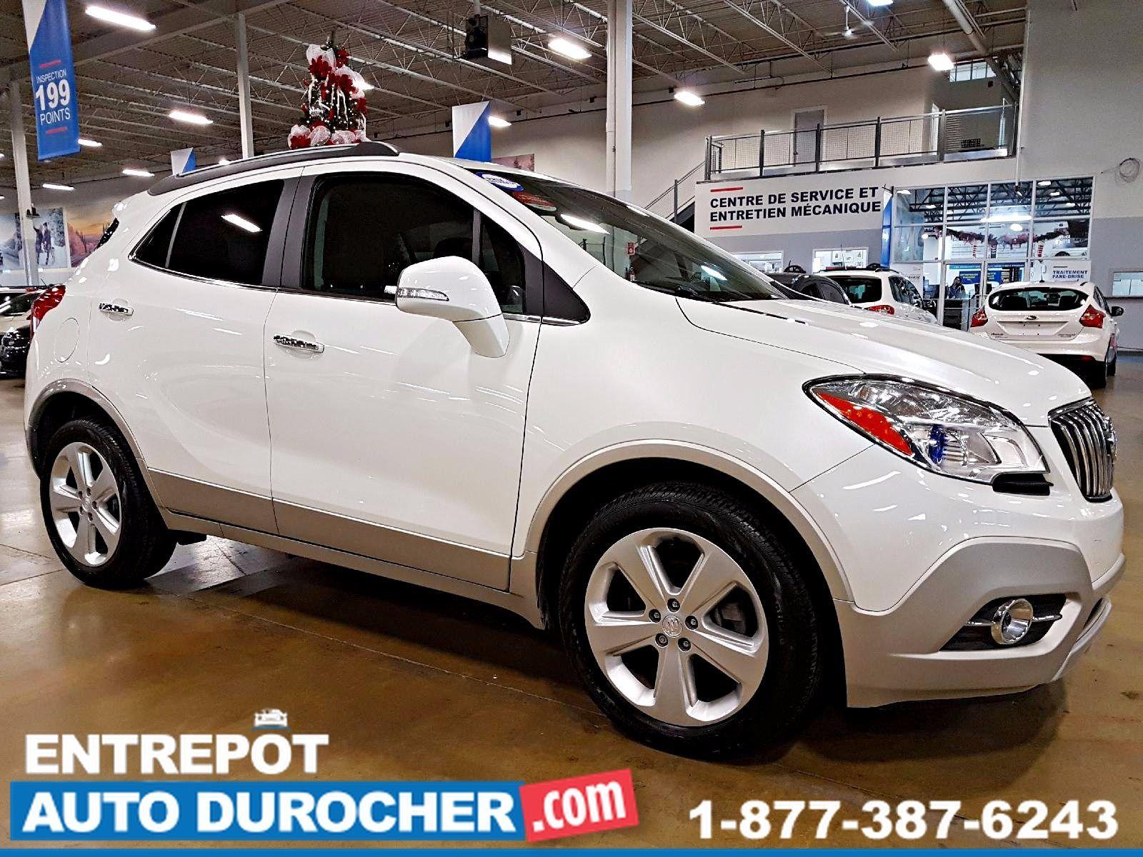 2015 Buick Encore AUTOMATIQUE - CUIR - AIR CLIMATISÉ