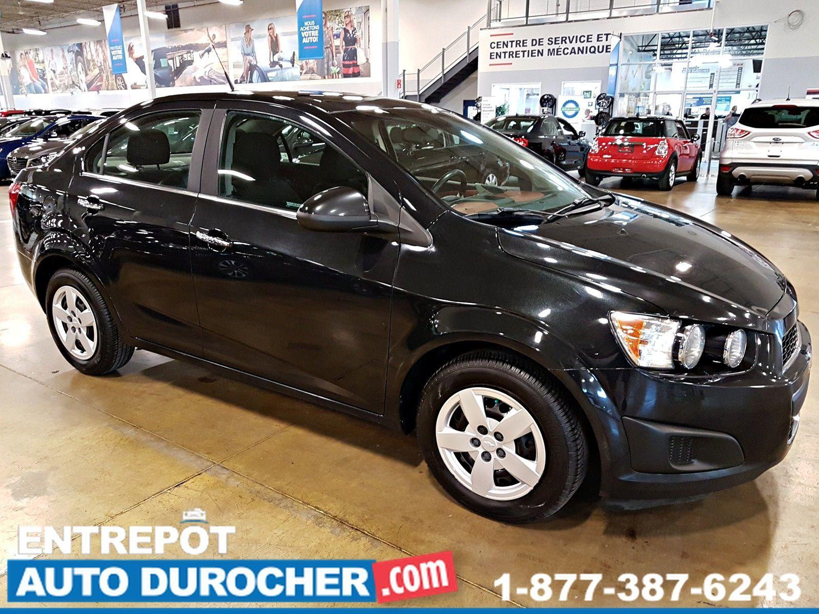 2013  Chevrolet Sonic LT - AIR CLIMATISÉ - Bluetooth - Groupe Électrique