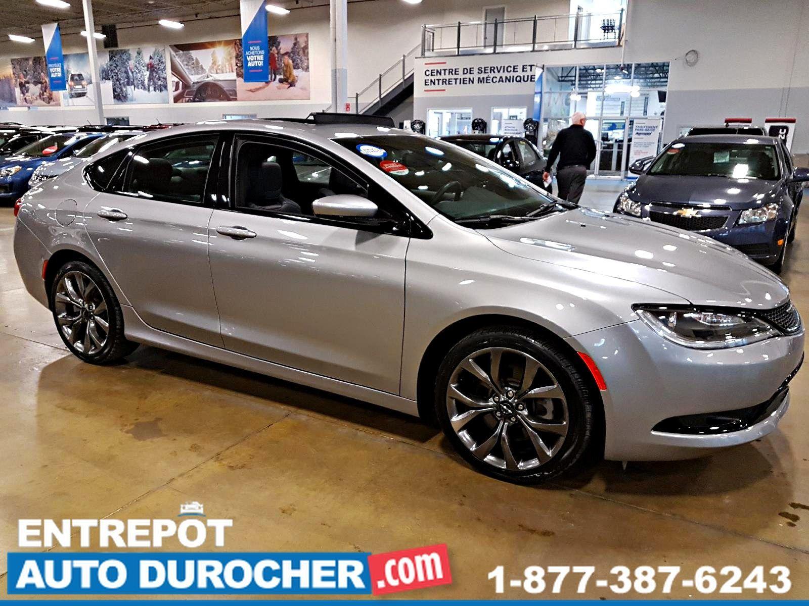 2015  Chrysler 200 S Automatique - NAVIGATION - Toit Ouvrant