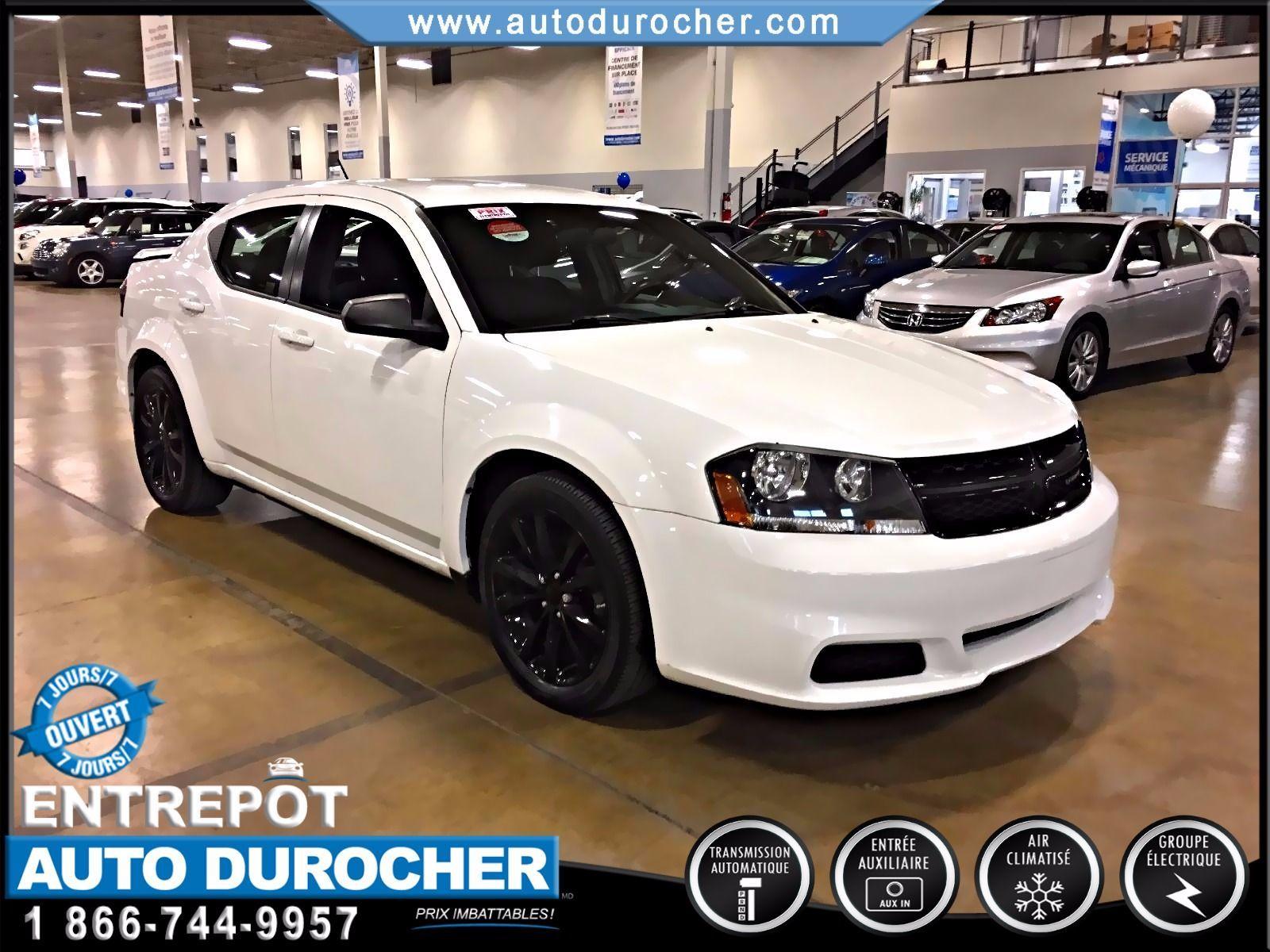Dodge Avenger AUTOMATIQUE TOUT ÉQUIPÉ JANTES 2013