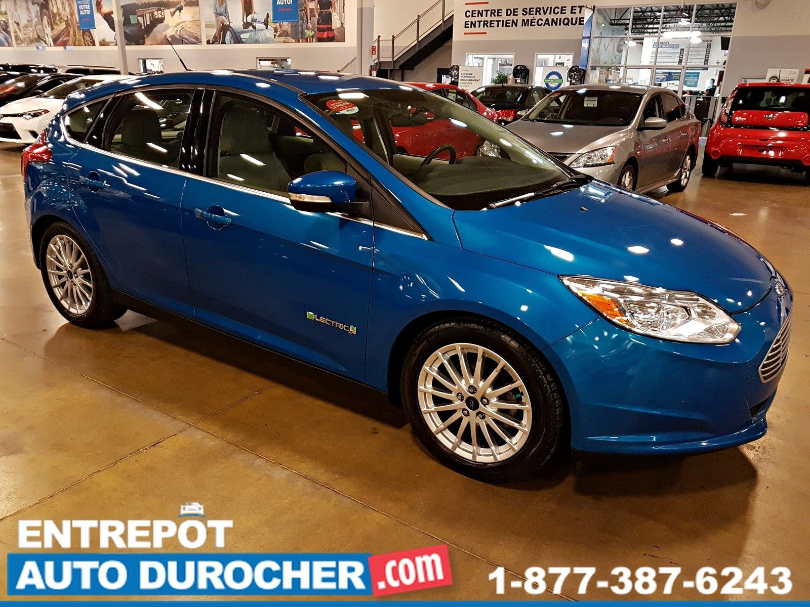 Auto Durocher Used Ford Focus Electric 2014 For Sale In Laval Motor Automatique Air Climatis Camra De Recul Heated Seats
