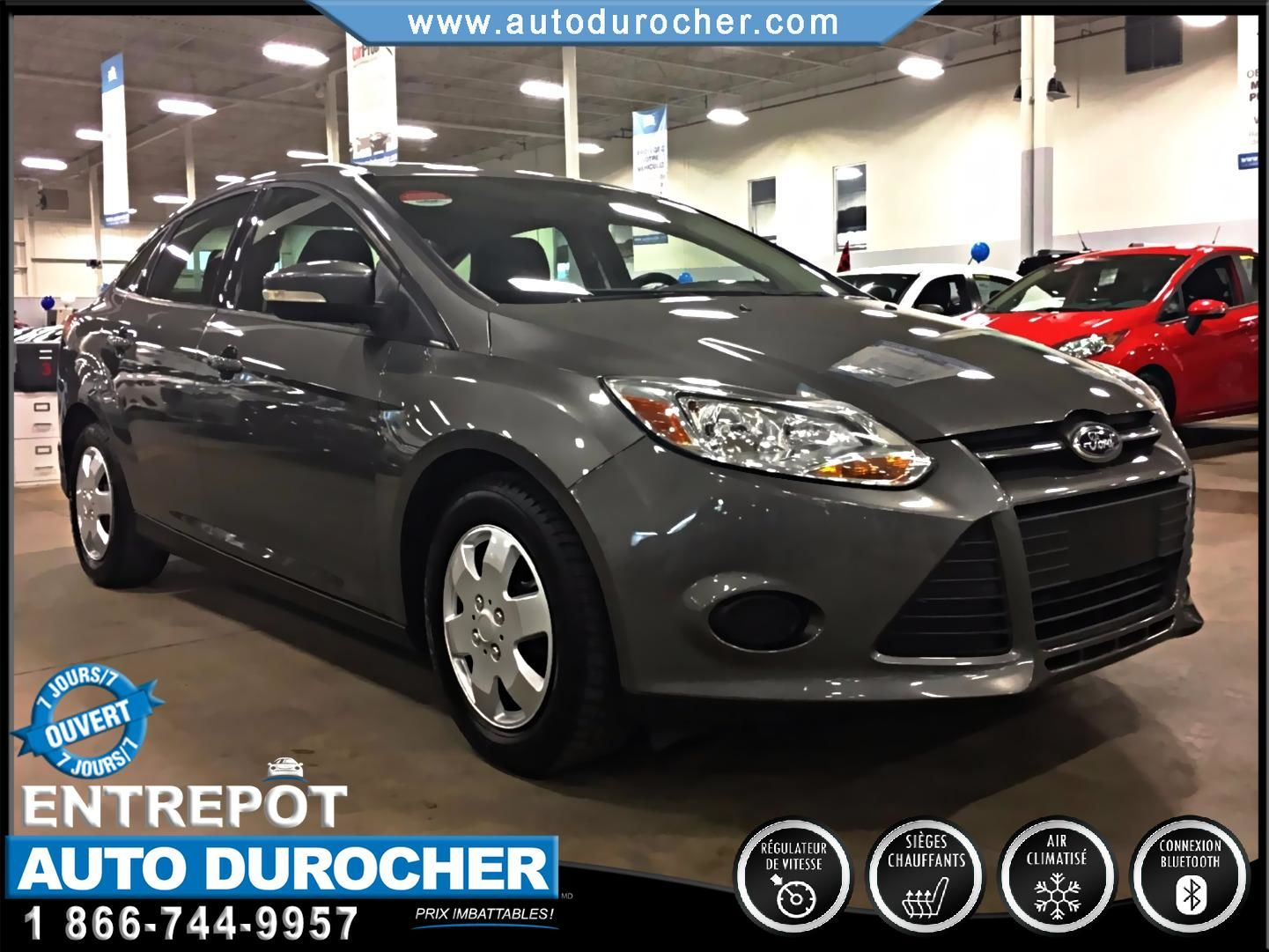 Ford Focus SE AUTOMATIQUE BLUETOOTH SIÈGES CHAUFFANTS 2013